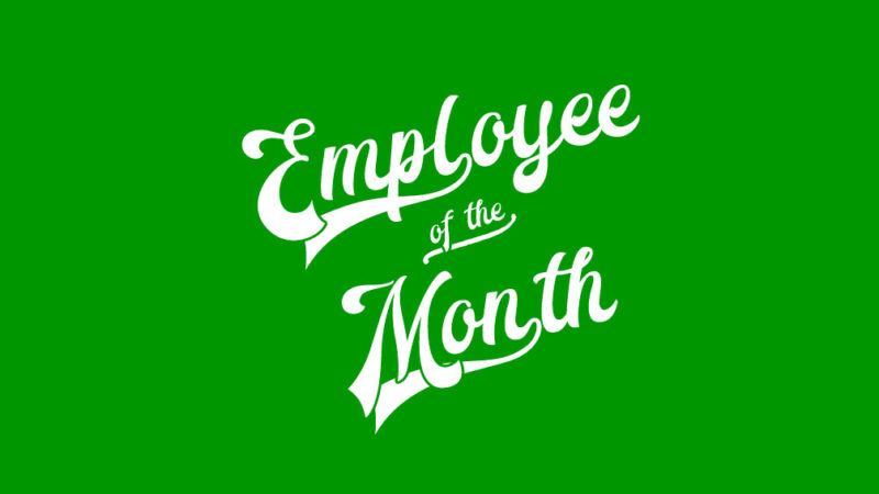 Employee of the Month Joshua James employee of the month